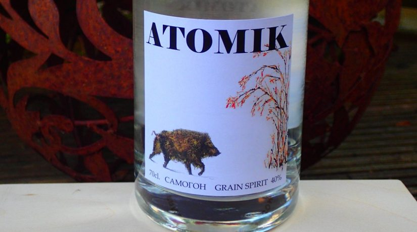 В Британии представили чернобыльскую крафтовую водку «АТОМІК»
