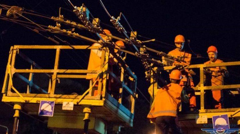 ремонт троллейбусной сети