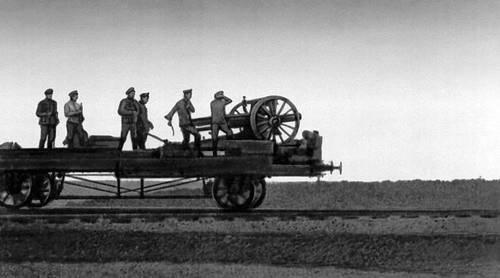 Артиллеристы Красной армии на петлюровском фронте