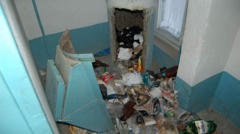 Функционирование мусоропроводов в жилых домах намерены прекратить