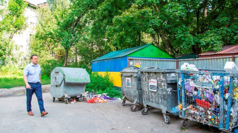 Перевозчики будут проверять состояние контейнеров для раздельного сбора мусора