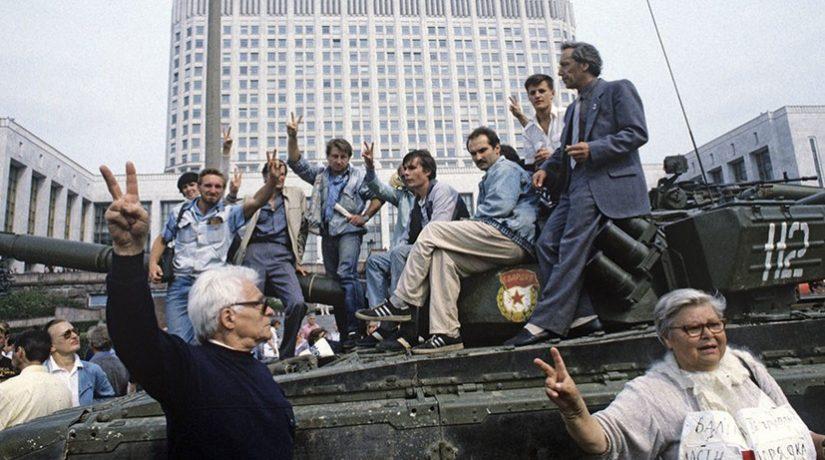Первый и последний майдан в СССР