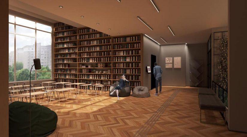 В Шевченковском районе капитально ремонтируют библиотеку имени Костомарова