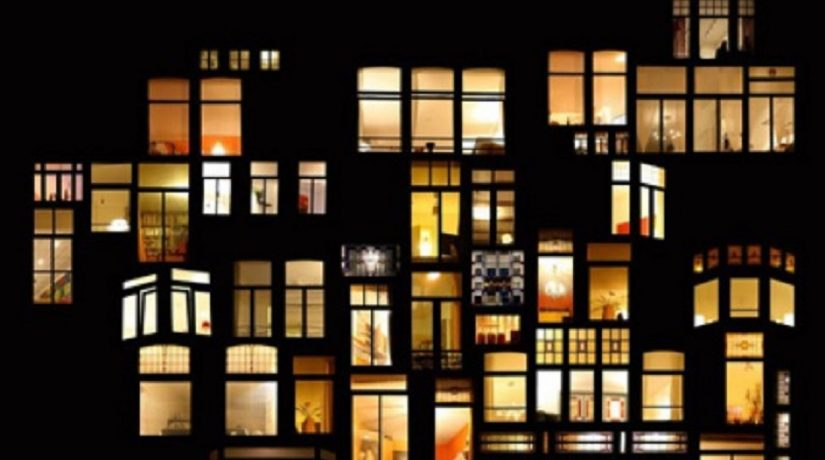 свет в окне