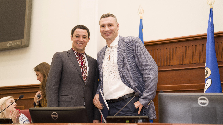Виталий Кличко, Владимир Прокопив