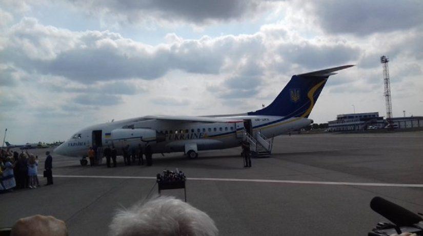 Обмен пленными состоялся: в аэропорт «Борисполь» прибыл борт с украинцами
