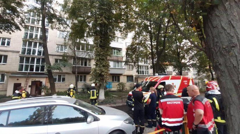 На Борщаговке при пожаре в жилом доме погиб человек