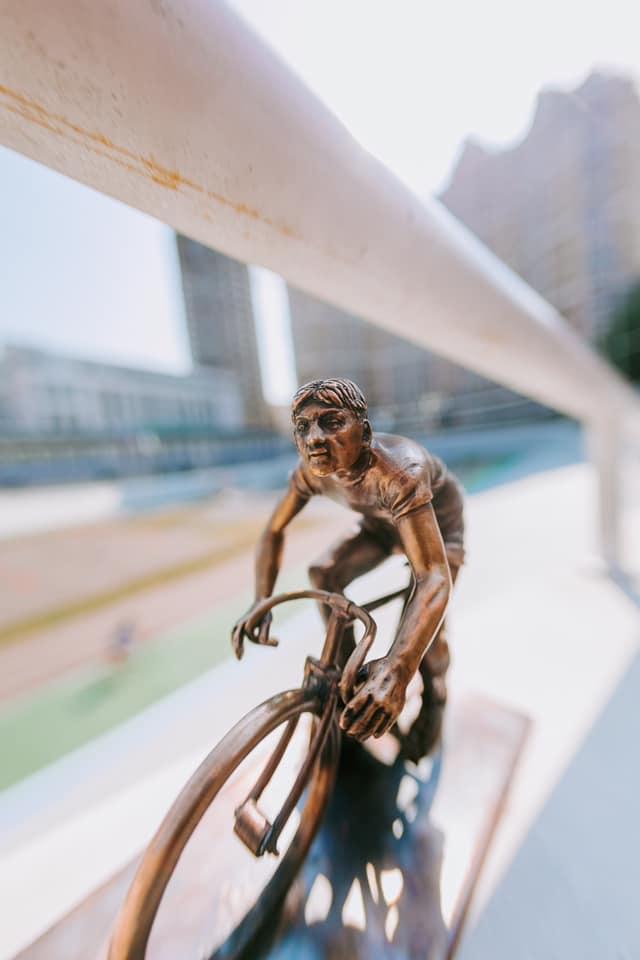 шукай, велосипедист
