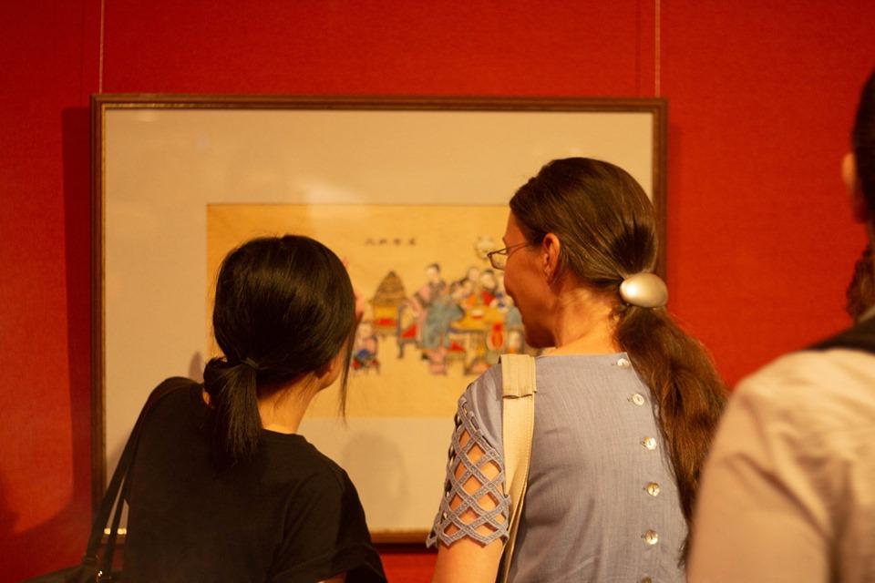 китайская живопись, выставка