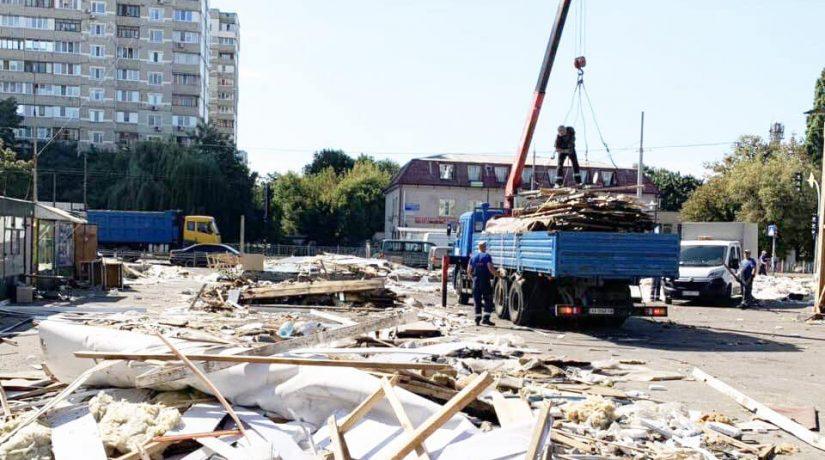 незаконные сооружения, демонтаж