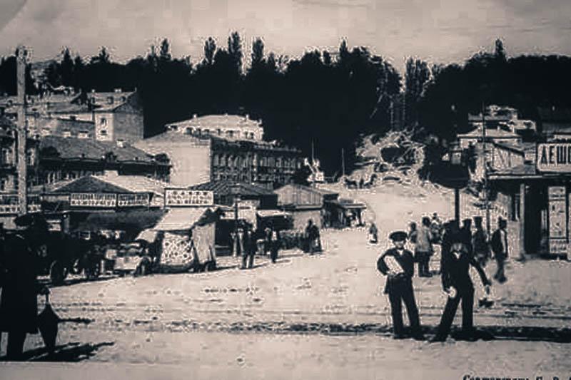 Лев Бродский – династия Бродских –– киевские меценаты – Бессарабский рынок – Бессарабская площадь