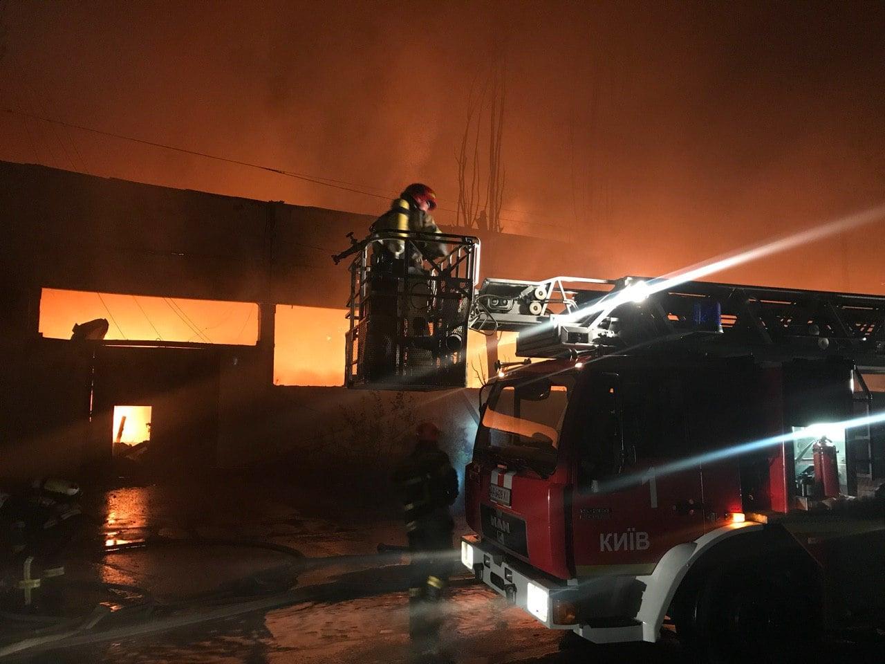 офис, пожар