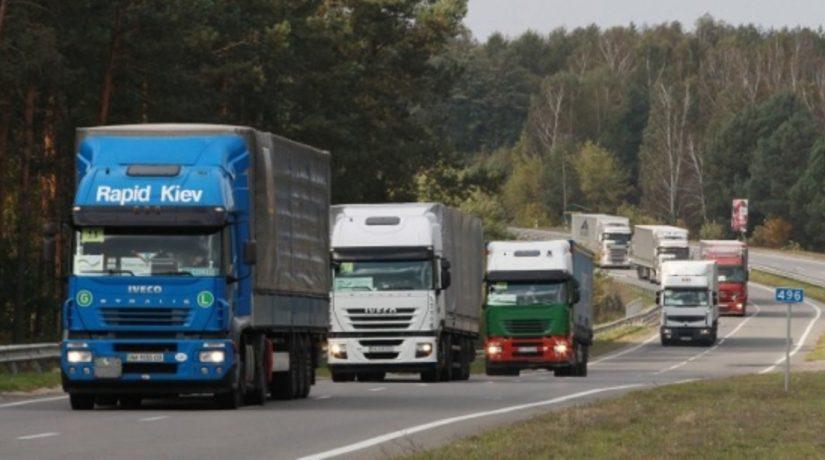 Въезд грузового транспорта в Киев со стороны Борисполя ограничат