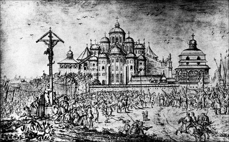 София Киевская. Рисунок А. ван Вестерфельда (1651)
