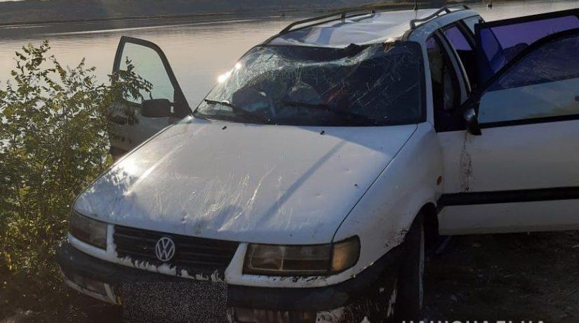 В Бориспольском районе мужчина утонул вместе с автомобилем