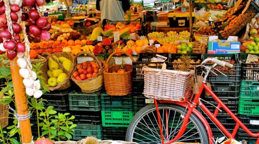 ярмарка, овощи, фрукты