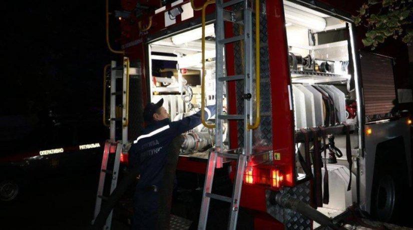 В Святошинском районе при пожаре в гараже погиб мужчина