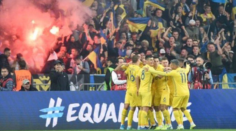 футбол, сборная украины