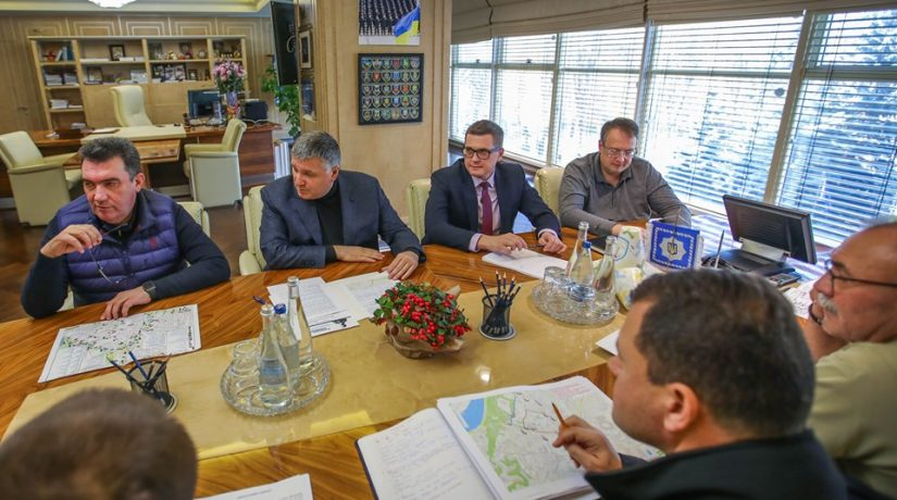 МВД, Аваков, Баканов, Данилов