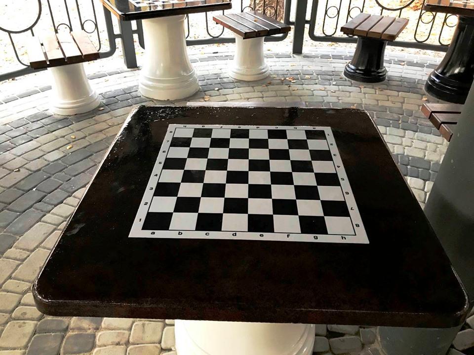 парк, Совки, шахматы, павильон