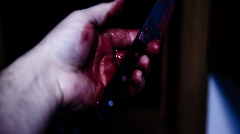 маньяк, нож, Троещина