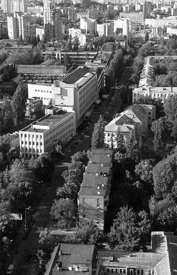 Ул. Керосинная, сейчас Шолуденко, современный вид