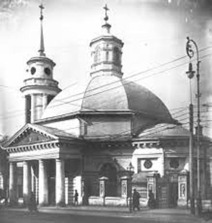 Церковь Рождества Христова на Подоле, разрушена в 1936, восстановлена в 2003 г., Почтовая пл., 2