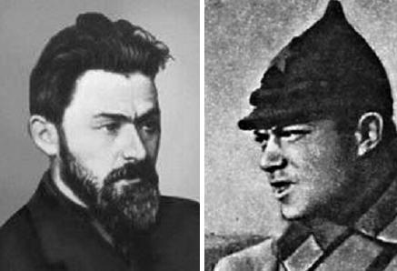 Командование Одесской группы красных: Я. Б. Гамарник, И. Э. Якир