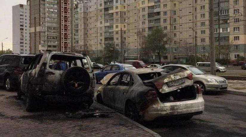 Кто поджигает автомобили в Киеве