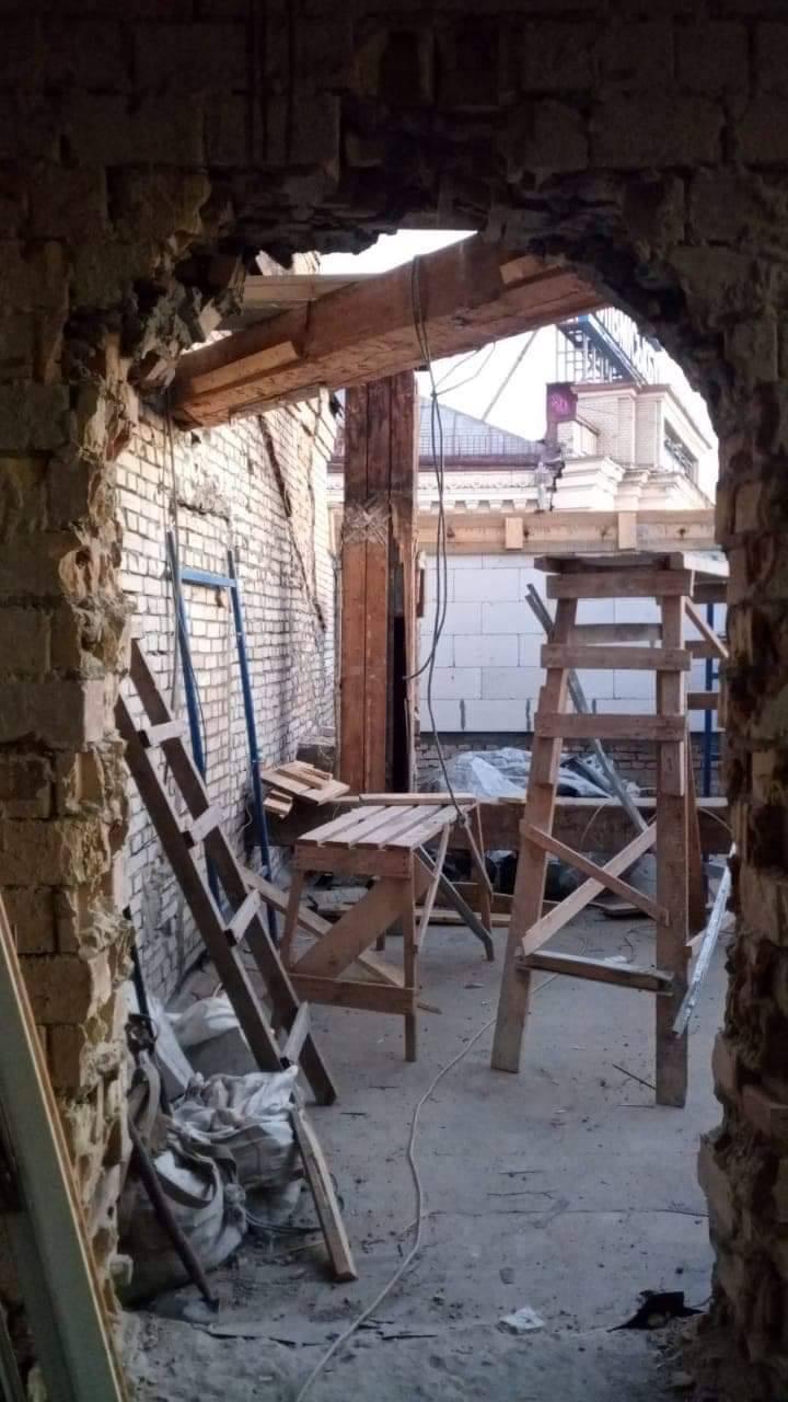 Демонтаж надстройки Софиевская