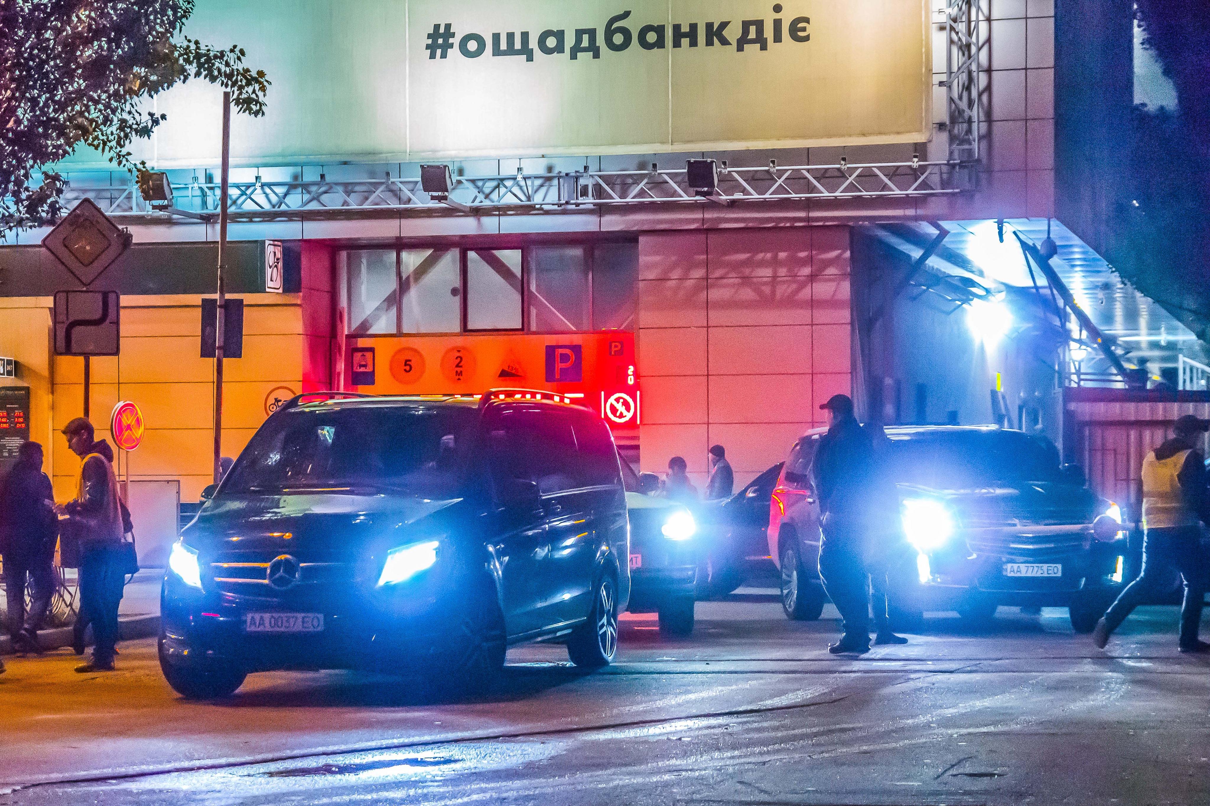 Киев, автотрафик