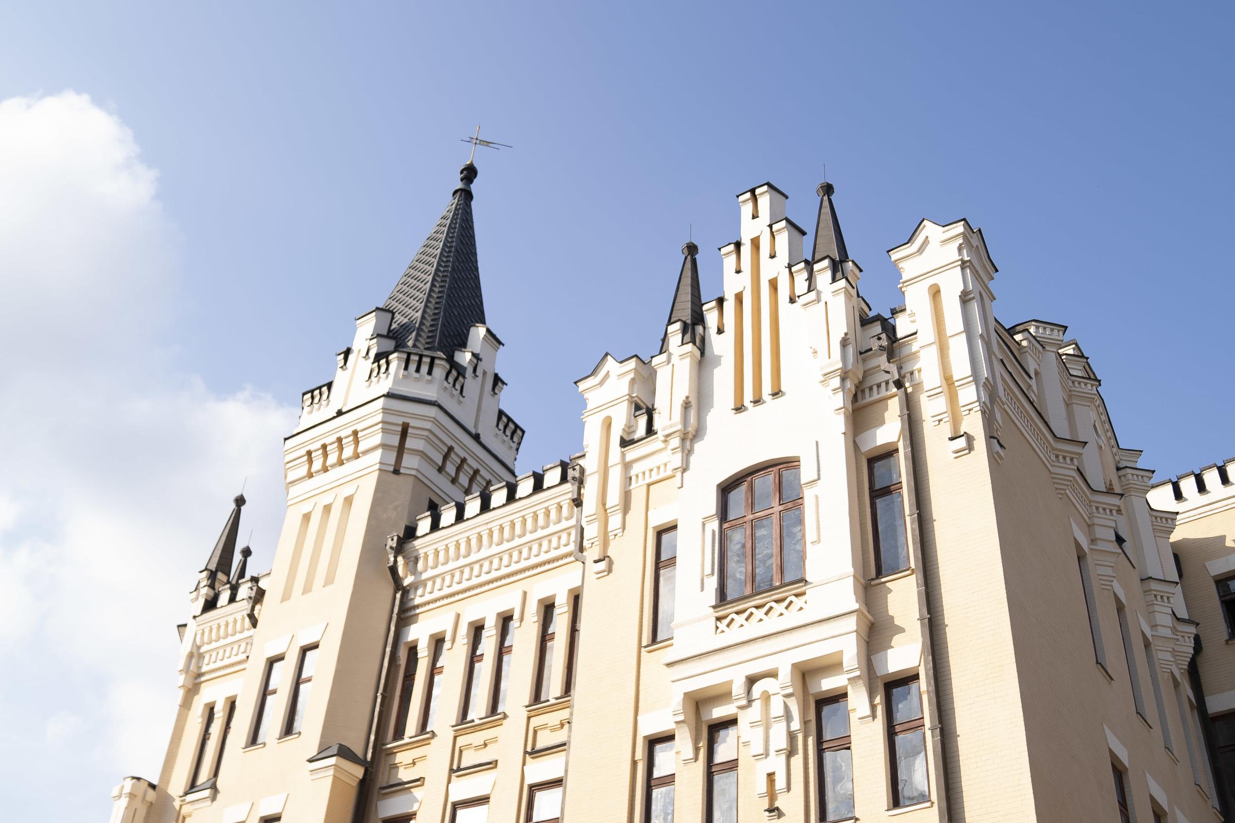 Замок Львоное сердце Андреевский спуск