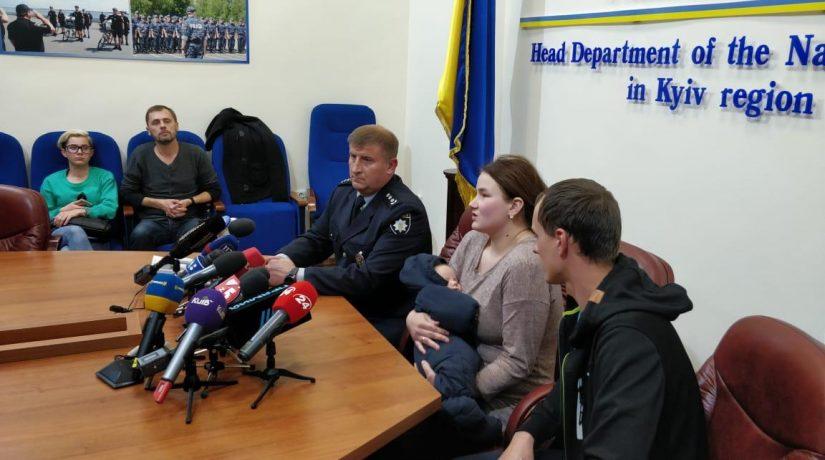 Полицейские задержали похитительницу ребенка под Киевом