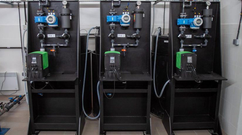 На Днепровской водопроводной станции откажутся от обеззараживания воды хлором