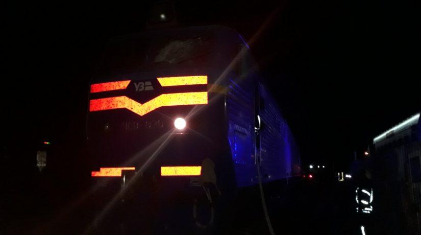 Под Киевом загорелся локомотив поезда, в котором было почти 150 пассажиров