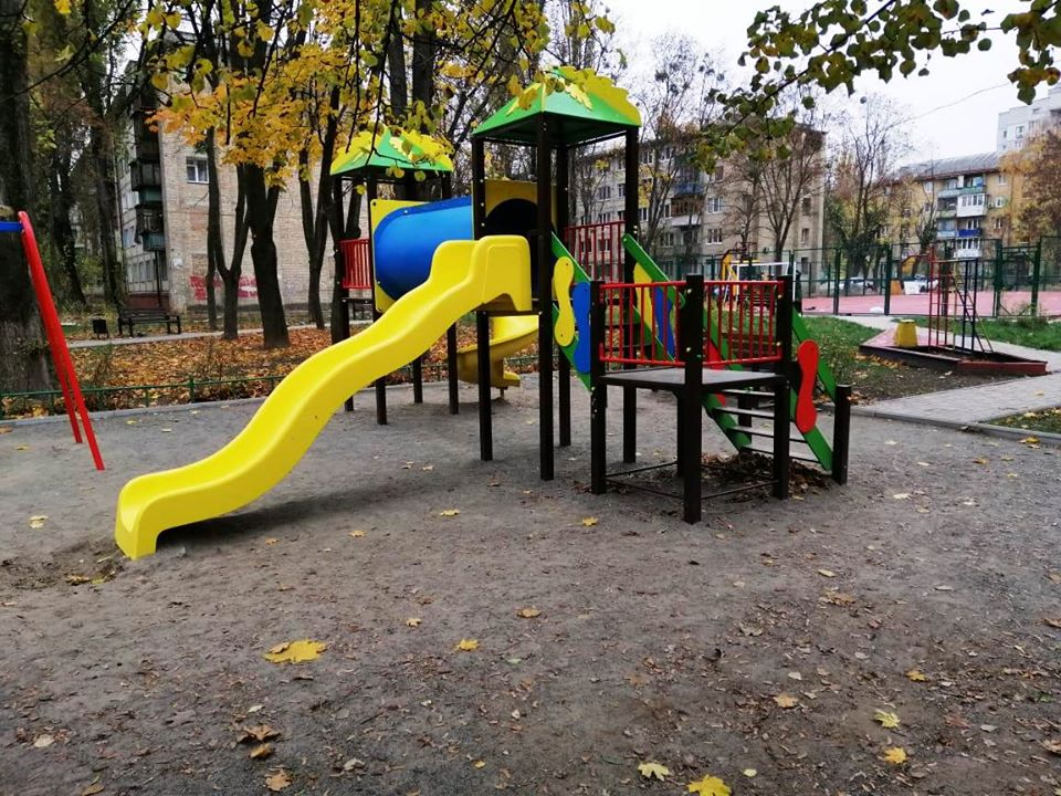 ул щербаковского, сквер, ремонт
