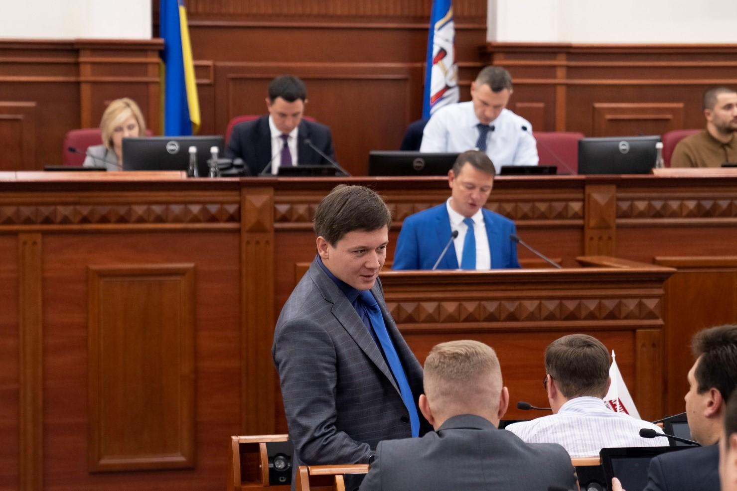Александр Харченко, Киеврада