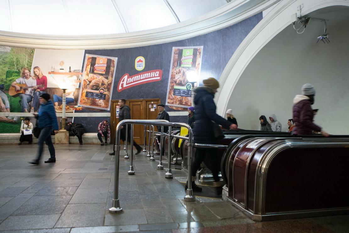 метро, эскалатор