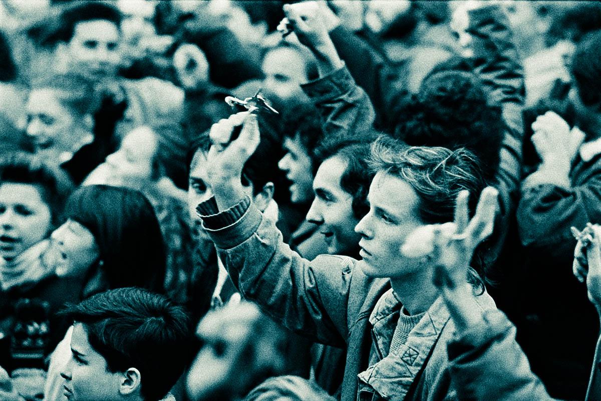 Бархатная революция Чехословакии – нацисты – восстание студентов - День студента