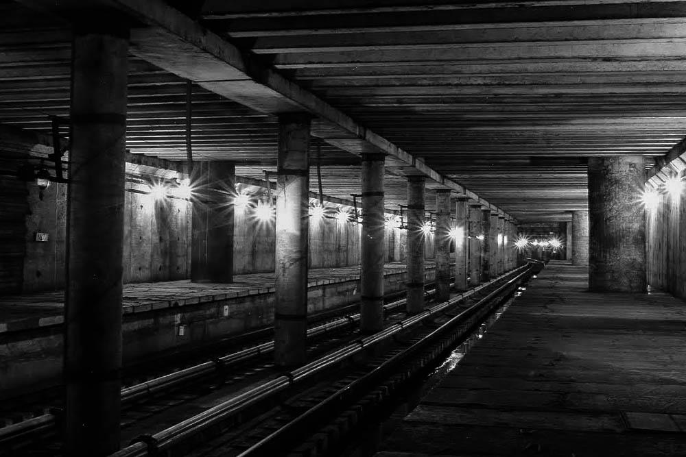 метро, станция, теличка