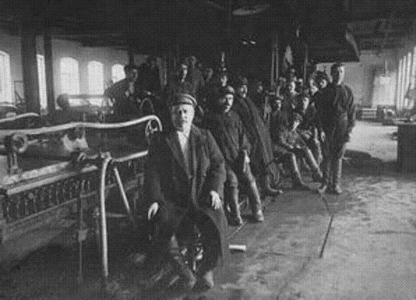 Рабочие-оборонцы киевского «Арсенала»