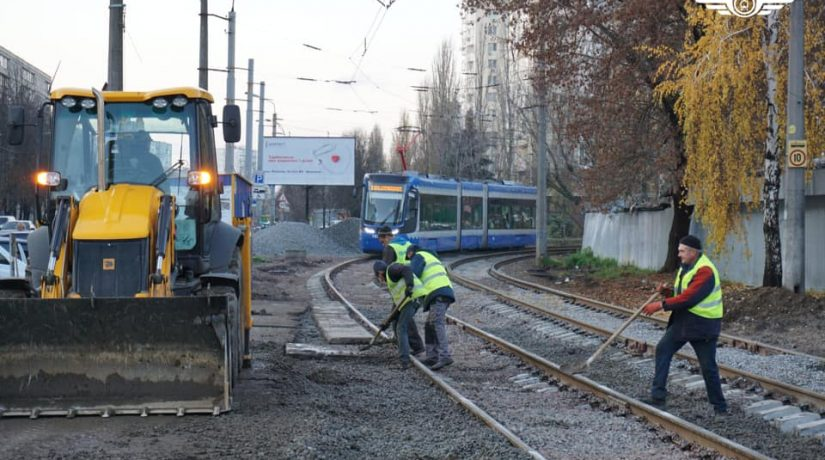 Скоростной трамвай, ремонт