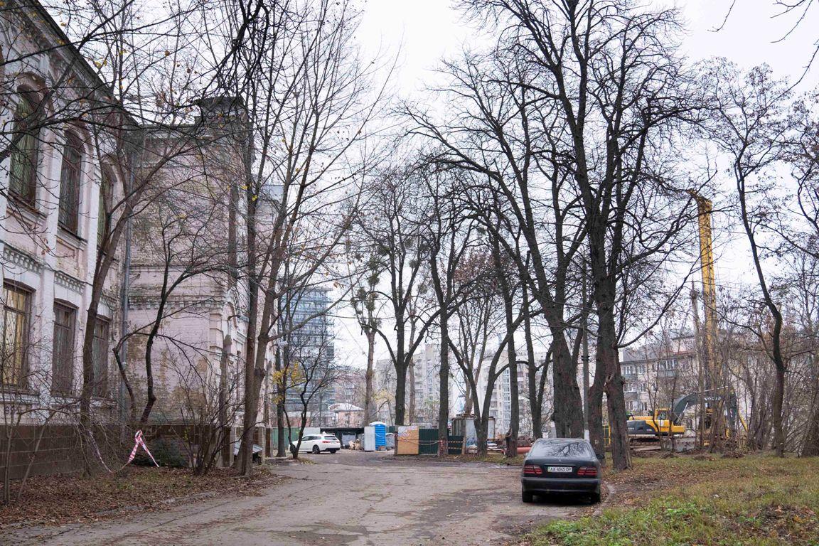 Стройка Мечникова Александровская больница