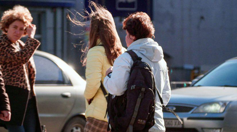 Киевлян предупреждают о сильном ветре