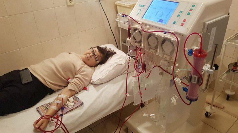 В Киеве появилась мобильная бригада, которая проводит процедуру гемодиализа