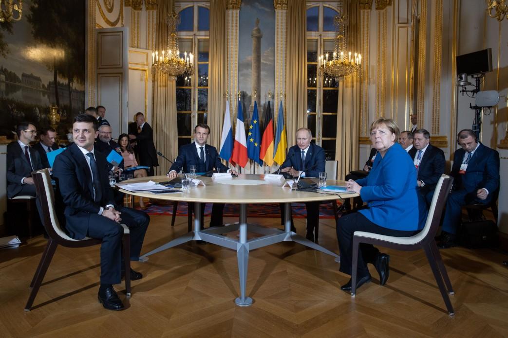 нормандская четверка, саммит, Париж