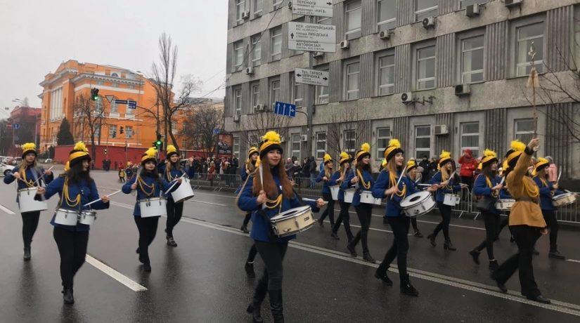 Новогодний парад
