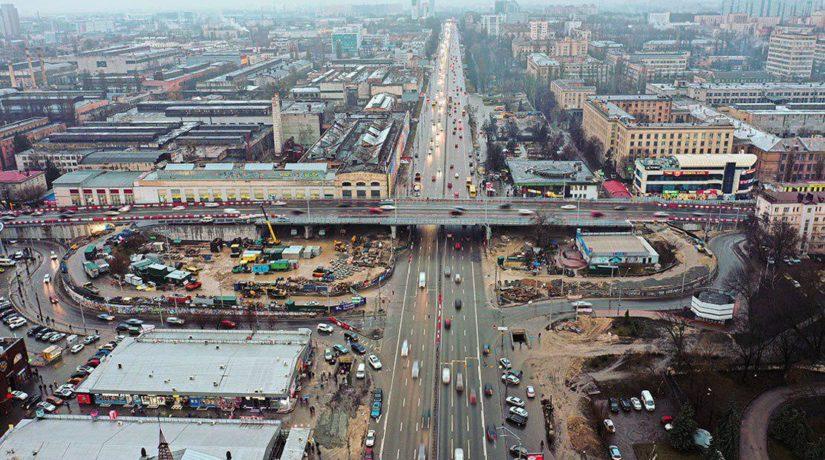 шулявский мост, открытие