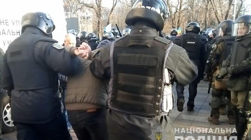 Столкновения под Радой: 19 пострадавших, 26 задержанных и уголовное дело