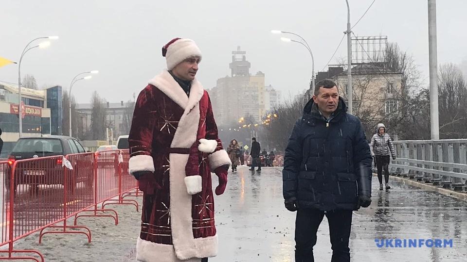 Кличко, Шулявский мост